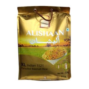 Alishaan XL Golden Sella 5kg