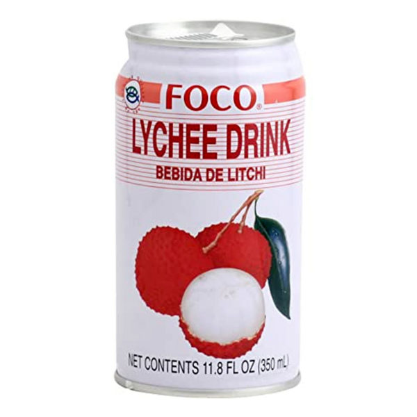 Foco Canned Lychees Drinks 350ML