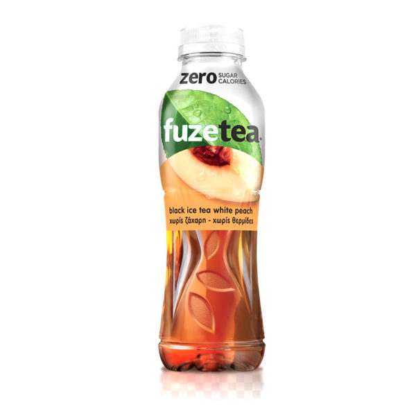 Fuze Peach & Black Tea 500ml Pet
