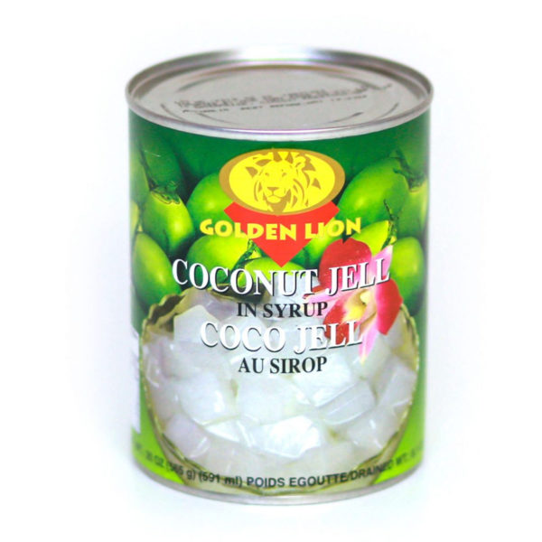 GLion Coconut jelly in Syrup 565g