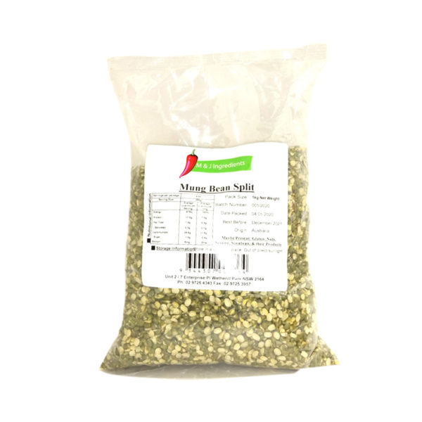 Mung Bean Split(Chilka) M&J 1kg