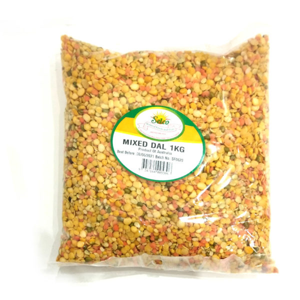 Mixed Daal 1 kg in a plastic bag