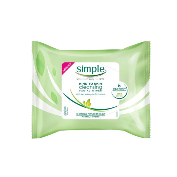 Simple Skin Facial Wipes Cleansing
