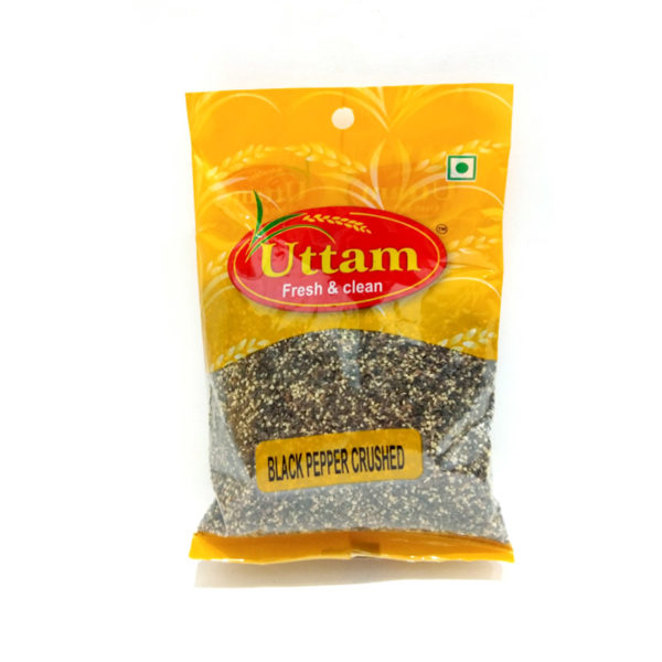 BLACK PEPPER CRUSHED 100G UTTAM
