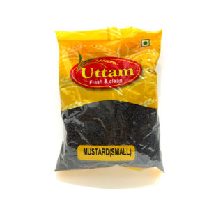 MUSTARD SEED BROWN SMALL 200G UTTAM