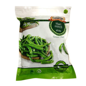 KT Frozen Green Chilli 312g