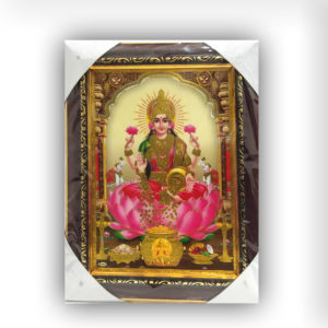 Shree Laxmiji Laminated Frame small