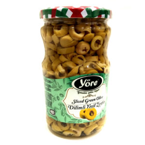 Yore Green Sliced olives 690g